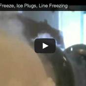 8Inch Pipe Freeze Plug Video