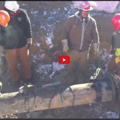 5-75 miles of pipe frozen to locate leak video